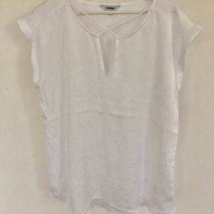Sheer White Express Shirt